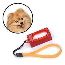 Click Clicker Training Obedience Agility Trainer Aid Wrist Strap Dog Pet