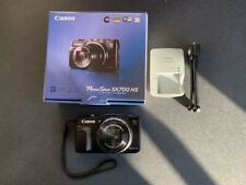 Canon PowerShot SX700 HS 16.1MP CMOS Digital Camera Black | HD 1080p Video