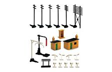 R574 Hornby 00/H0 Gauge Model Railway Trackside Buildings Accessory Pack New