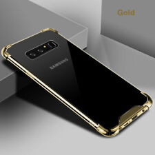 For Samsung Note 8 S7 Edge S8 Plus Hybrid Shockproof Hard Clear Case Phone Cover