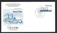 Canada  # 702   Fleetwood Inland Vessels  Cover     New 1976 Unaddressed