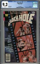 The Black Hole #2 CGC 9.2 NM- Whitman Variant WHITE PAGES
