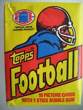 1981 Topps NFL Football Sealed Wax Pack **Joe Montana Rookie Year** Unopened