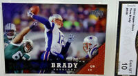 Gem Mint 10: 2005 Tom Brady Upper Deck Football Card #109 Patriots Buccaneers