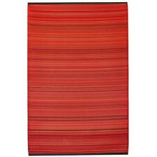 Fab Hab Cancun Indoor/Outdoor Rug 5ft x 8ft Sunset