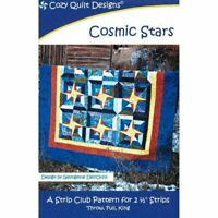 Cosmic Stars Quilt pattern - Cozy Quilt Designs