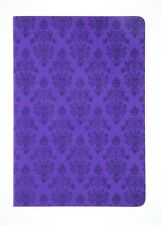 Disney Parks Haunted Mansion Wallpaper Journal Notebook Purple