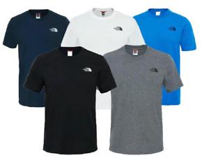 The North Face T-Shirt Mens Short Sleeve t shirt -Small logo tee  -Sale