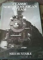 """""""Classic North American Steam Trains by Huxtable, Niles """""""