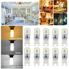 10X G9 5W LED Dimmable Capsule Light Bulb Replace Halogen Lamps AC220-240V White