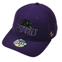 NCAA Original Zephyr Prairie View A&M Panthers Fitted Size Purple Hat Cap PVAMU