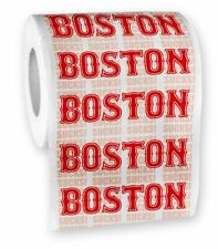 Boston Sucks Toilet Paper Roll - Yankees Red Sox Fans - party gag gift joke