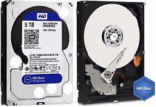 Western Digital BLUE Hard Drive WD 5TB Desktop HDD SATA 3 64MB Cache WD50EZRZ