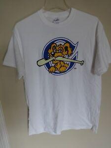 NWOT Charleston RiverDogs Minor League Baseball Pullover T-Shirt Men Small SGA