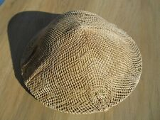 1940 Wwii British commonwealth sand tan camo helmet with net liner and chinstrap