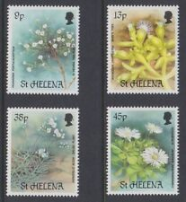 ST HELENA 1987 Rare Plants MINT set sg505-508 MNH