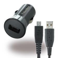BlackBerry Original USB KFZ-/Auto-Ladegerät plus Micro-USB-Ladekabel - Schwarz