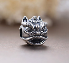 Authentic.925 Solid Sterling European Charm Fits PAN BRACELET CHINESE DRAGON