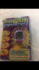 Tamagotchi DARK PINK with flowers Version 3 NIP SUPER RARE