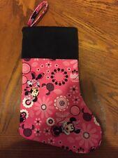 Handmade Christmas Stockings ( Minnie Mouse )