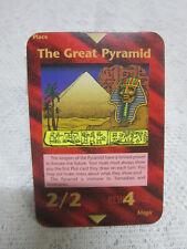 "Limited 1994 Promo Special ""THE GREAT PYRAMID""   ILLUMINATI  INWO  Card Game"