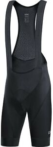 Gore Wear C3 Bib+ Bike Shorts Mens Sz L Black