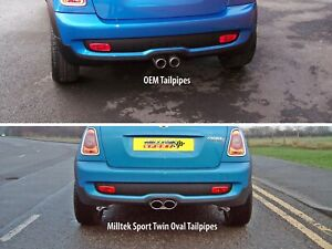 Mini Cooper S R56 Milltek Resonated Stainless Steel Exhaust