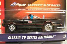 New Silver Screen Batman Batmobile TV Series HO slot car 4 Gear R31 AW chrome