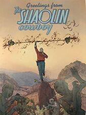New RARE PROMO POSTCARD SHAOLIN COWBOY Comic Con Swag Geoff Darrow