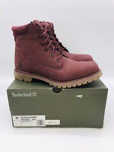 "Timberland Women's Waterville Waterproof 6"" Boots Burgundy US 11M / EUR 42"