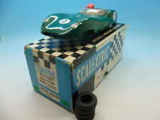 Scalextric C56 Lister Jaguar in green large head, mint boxed