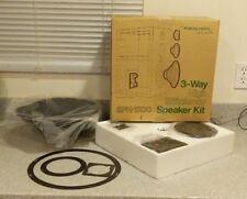 Vintage Realistic NOS 3 Way High Efficiency Speaker Kit SPK-1200 Radio Shack