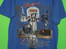 VTG Denver Broncos NFL Football Men's Size L Large Nutmeg Mills Blue T Shirt
