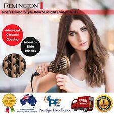 Remington Hair Straightener Electric Brush Keratin Fast Heat Straightening Comb