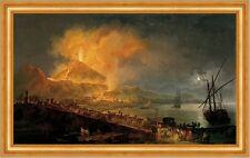 The Eruption of Mt. Vesuvius Pierre-Jacques Volaire Italien Vulkan B A3 03105