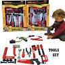 Kids Childrens Childs Building Tool Kit Toy Boys Builder Construction Play Set