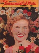 Pasadena Tournament of Roses Pictorial Magazine - 1949 - Program
