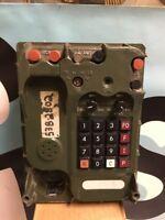 US MILITARY SURPLUS Radio/Telephone Phone TA-1042A/U