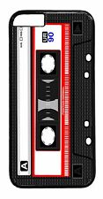 Retro Style Cassette Hot Black/white Cute Back Case Cover For Apple iPod 4 5 6
