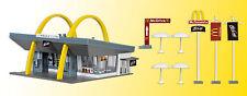 VOLLMER 43634 Scala H0, McDonald BB´s Ristorante fast food con McDrive # in #
