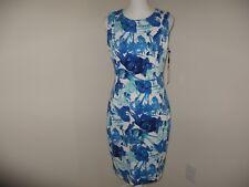 Calvin Klein Sleeveless Floral-Print Sheath Dress Size 10 NWT MSRP$99
