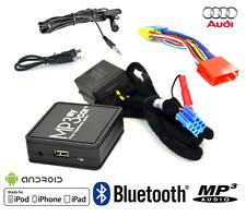 BOÎTIER BLUETOOTH AUXILIAIRE MP3 POUR AUTORADIOS AUDI A2 A4 S4 A8 TT A3 A6