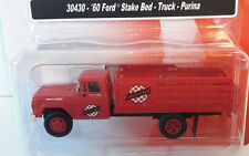 HO Scale Classic Metal Works 60' Ford Stake Bed 'Purina' Item #30430