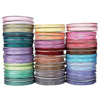 "New Gingham Ribbon - 25 yards  reel - 3/8"" 5/8"" widths Many Colour Choose bulk"