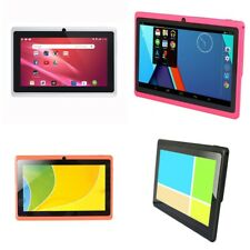 7 Inch Kids Tablet Android Quad Core Dual Camera WiFi Education Game Gift W7T0
