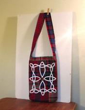 Celtic plaid purse/bag/messenger bag cross body