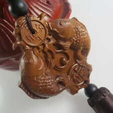 Lucky Natural rosewood pisces  , amass fortunes Chinese Antique Pisces