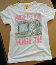 """Junk Food """"Where The Wild Things Are"""" T-Shirt Girl's size 6X Brand New"""