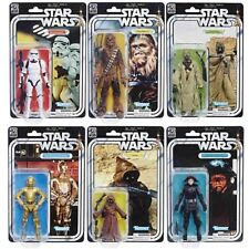 MOSC STAR WARS THE BLACK SERIES 40TH ANNIVERSARY WAVE 2