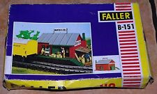 Vintage Faller Rail Loading Building B-151 New Old Stock Sealed in Original Bag